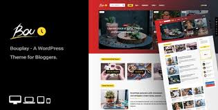 Bouplay WP - A WordPress Theme for Bloggers by An-Themes | ThemeForest