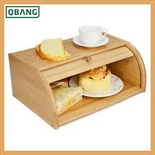 bread basket wooden box storage boxes