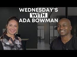 Wednesdays With Ada Bowman - N.M Davis Jr. - YouTube