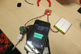 diy newbie built a solar iphone charger