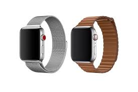apple watch milanese and leather loop
