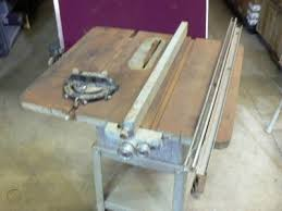 Vintage 9 Delta Rockwell 9 Table Saw W Rolling Stand 133010391