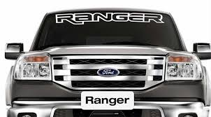 1950 2017 Ford Ranger Vinyl Windshield Body Decal Sticker New Custom