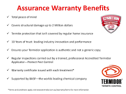 34+ Termite Treatment Warranty Certificate Background