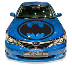 Custom Made Car Hood Batman Premium 4 Season All By Signs4half 48 00 Batman Car Batman Car