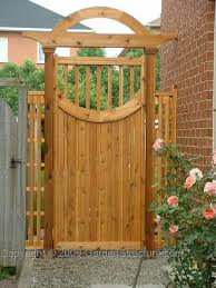 curved gate plans diy step by step
