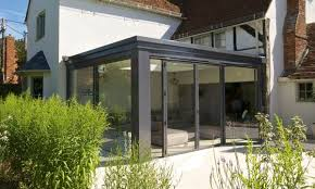 flat roof extension conservatory flat