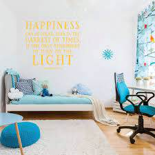 Dumbledore Happiness Can Be Found Quote Boys Wall Decal Vinyl Decor Wall Decal Customvinyldecor Com