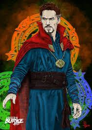 Doctor Strange Art Print By Joseph Burke