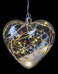 glass hanging ornament with