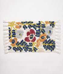 abstract fl bath rug