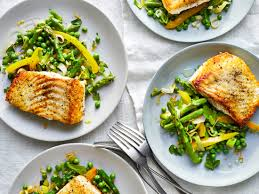 Pan-Seared Halibut With Spring ...