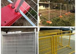 Security Galvanized Temporary Construction Fence Panels For Isolation