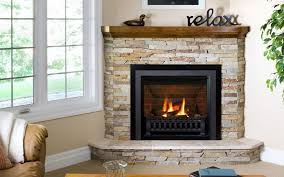 direct vent fireplaces corner