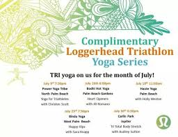 free yoga cles in july
