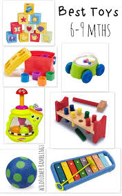 best baby toys 6 to 9 months