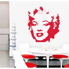 Wall Decals Thewonderwalls Marilyn Monroe Wall Decal