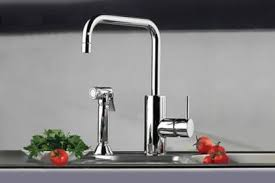 kitchen single hole side spray faucets