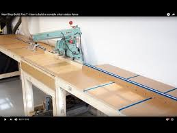 New Shop Build Part 7 How To Build A Movable Miter Station Fence Youtube