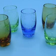 vintage cordial glasses on wanelo