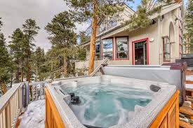 private hot tub fireplace
