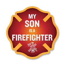 My Son Is A Firefighter Car Decal 4 The Bravest Decals
