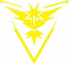 Pokemon Go Team Instinct In Yellow Vinyl Decal Truck Window Car Laptop Ipad Ebay