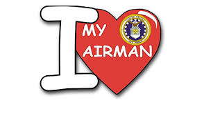 Amazon Com I Love My Airman Vinyl Transfer Decal Military Veteran Served Window Bumper Sticker Vinyl Decal 3 8 Automotive