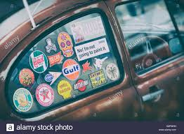 Car Window Stickers High Resolution Stock Photography And Images Alamy