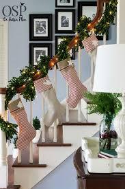 christmas banister decorating ideas