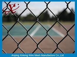 Professional Factory Galvanized Pvc Coated Chain Link Fence Prices