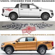 Ford Ranger Vinyl Graphics Ford Ranger Stripe Kit Ranger Decals