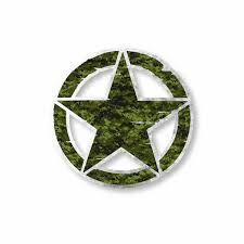 Army Star Vinyl Decal Car Truck Laptop Sticker Low Priced Decals Lots Of Designs