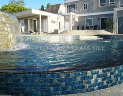 all glass tile pool in lightstreams