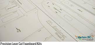 laser cut foamboard sd build kits of