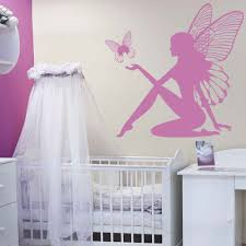 Fairy Butterfly Fantasy Wall Sticker Artistic Design Wall Decal Girls Room Nursery Decor E Co Friendly Vinyl Wallpaper Sa315 Designer Wall Stickers Wall Stickernursery Decor Aliexpress