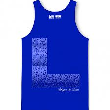 big l rhyme in peace tank top