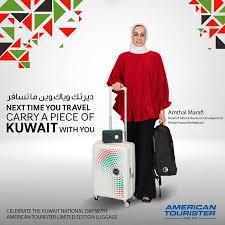 american tourister celebrates kuwait
