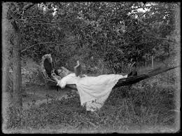 Lydia Myrtle Williams in a hammock, N... | Items | National ...