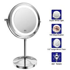 gospire lighted makeup mirror