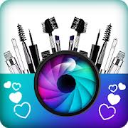 beauty photo editor face makeup camera