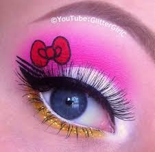 o kitty inspired makeup how to