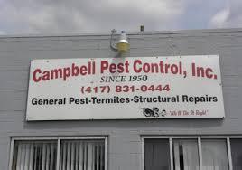 cbell pest control springfield mo