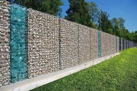35 Fabulous Modern Fence Design Ideas Best For Your Privacy In 2020 Modern Fence Design Fence Design Gabion Fence
