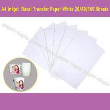 Dhl Fast Delivery 100 Sheets A4 Inkjet Printer Water Slide Decal Paper Sheets White Color White Copy Paper Stationery Store Online From H Excellent 60 31 Dhgate Com