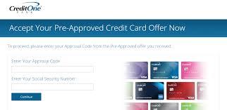 creditonebank pre approved