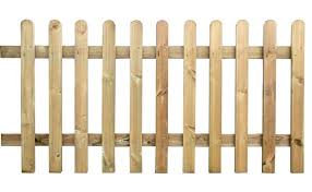 Wooden Picket Fence Panel 6ft Sections 2ft 3ft 4ft Heights Etsy