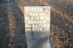 Fern Graham (Unknown-1898) - Find A Grave Memorial