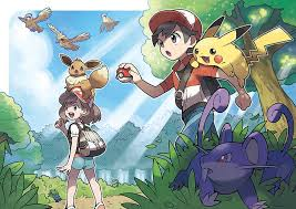 go pikachu and let s go eevee