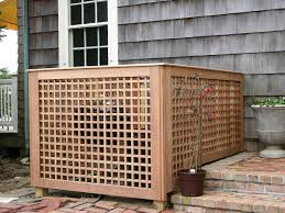 Inspirational Outdoor Diy Ac Unit Covers That Don T Look Normal But Are Actually Real Inspire Design Ideas Decoratorist